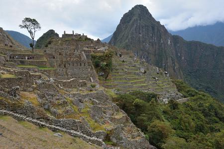 Ruins of village Machu-Picchu, Peru, South America