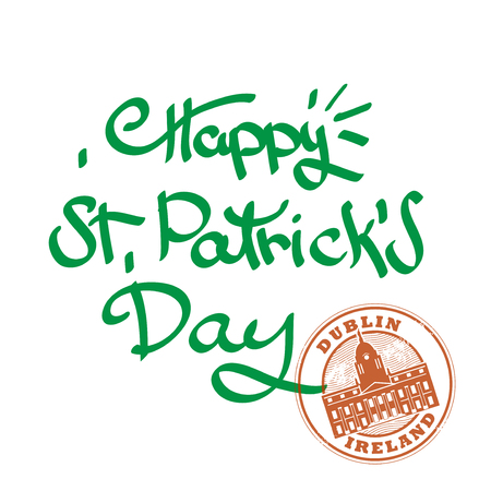 St. Patricks Day Background, vector illustration