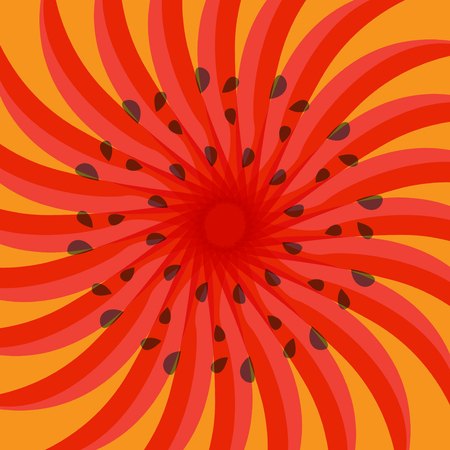 Abstract explosion radial lines background, vector illustration