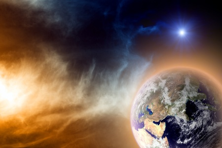 armageddon: Scientific background - earth in space