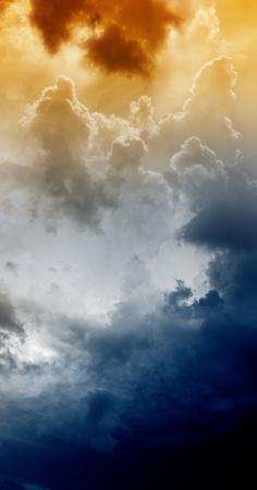 Armageddon background - dramatic sky with light from above. Mayan apocalypse 2012, Nostradamus armageddon 2012, armageddon bible Stock Photo - 11840159