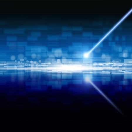 Abstract techologycal backgrond - laserstraal, informatie over optische schijf