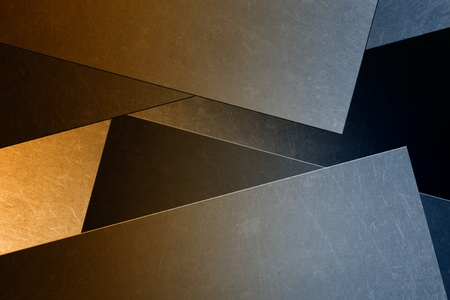 solidity: Abstract industrial background - metallic scratched panels, wall