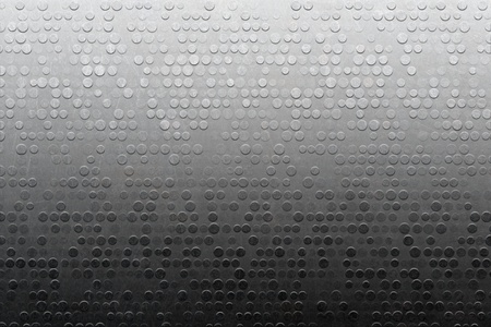 solidity: Gray metallic scratched textured stainless steel panel