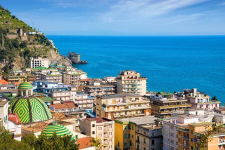 Maiori is town and comune on Amalfi coast in province of Salerno, Campania, Italy. Amalfi coast is popular travel and holyday destination in Europe.