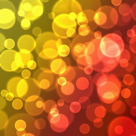 abstract color blurred lights background illustration Stock Photo