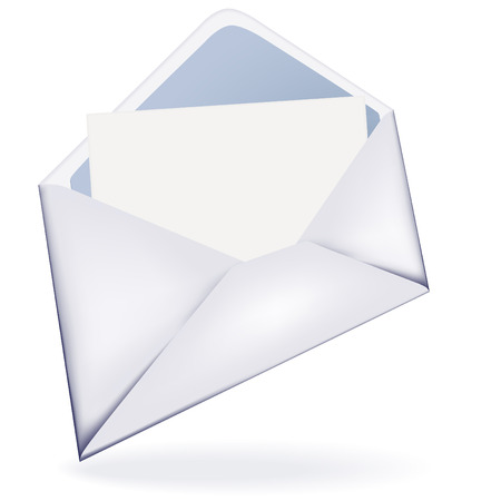 opened letter email icon vector image