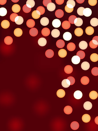 blinking: celebration christmas blurred lights abstract background vector
