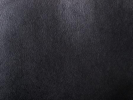 peau cuir: en cuir noir naturel abstraite arri�re-plan d�taill�e Banque d'images