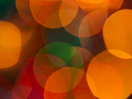 blurred lights natural bokeh abstract background photo
