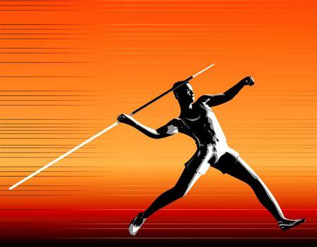 javelin: Digital Illustration