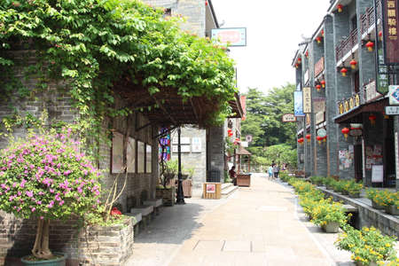 impressions: Impressions of Lingnan Garden, the ancient streets, ancient rivers, stone