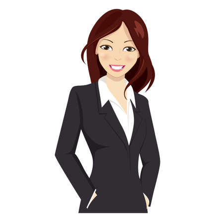 Young female professional workers  イラスト・ベクター素材