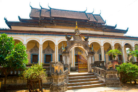 buddhist temple: Cambodia, Siem reap. Beautiful Buddhist temple.