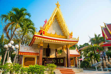 the gilding: Beautiful religious building with gold decoration and gilding Stock Photo
