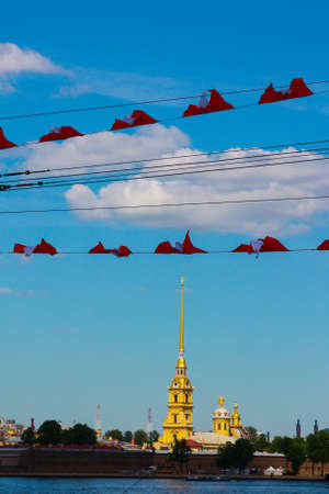 piter: The top sights in the culture capital of Russia Stock Photo