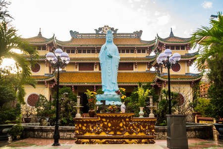 feudalism: The ancient and beautiful religious buildings in the town of Da Nang