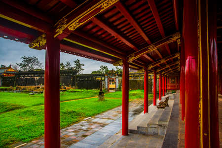 unified: The Imperial City, established as the capital of unified Vietnam in 1802 CE, its also the cultural and religious centre under the Nguyen Dynasty