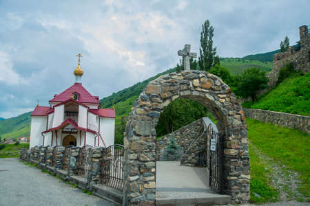 alan: The monastery of stone, an old Church in the mountains. Alan Svyato-Uspensky monastery, which is located in Fiagdon. This is the highest Orthodox monastery in Russia.Hidixys.