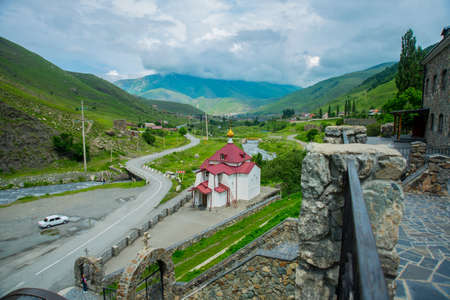 highland region: The monastery of stone, an old Church in the mountains. Alan Svyato-Uspensky monastery, which is located in Fiagdon. This is the highest Orthodox monastery in Russia.Hidixys.