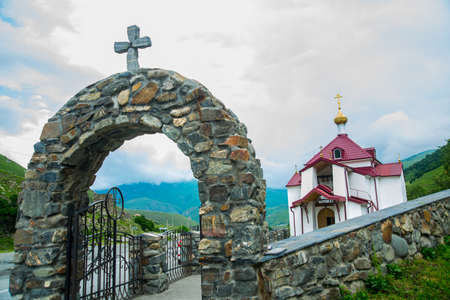 alan: The monastery of stone, an old Church in the mountains. Alan Svyato-Uspensky monastery, which is located in Fiagdon. Mironositskaya Church in Alan assumption monastery.Hidixys.