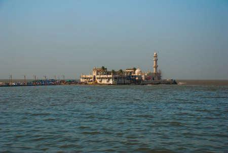 ali: Mosque in middle of the sea in Mumbai. Haji Ali.
