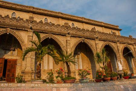 trang: Nha Trang Cathedral in Nha Trang, Vietnam.