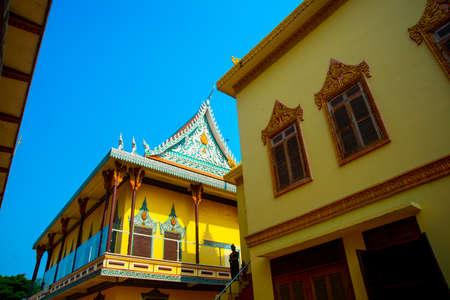 penh: The beautiful temple city of Phnom Penh the capital of Cambodia