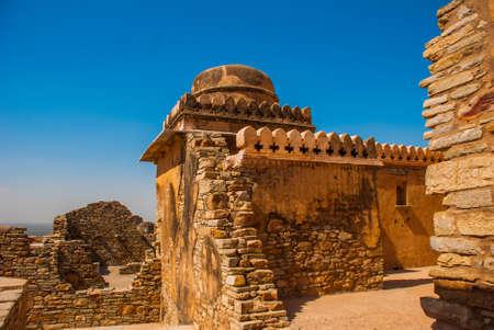 chittorgarh fort: Chittorgarh Fort, Rajasthan, India. Chittorgarh Fort, the largest fort in India. Hindu Temple in the fort.