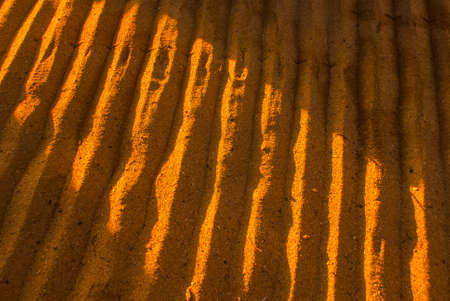 Beautiful dawn on the beach in Sanur. Bali, Indonesia.The texture of the sand at dawn.