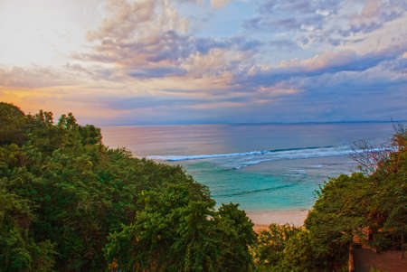 roberts: Pabang Pabang beach, where they filmed the movie Eat, pray, love Julia Roberts. Bali, Indonesia Stock Photo