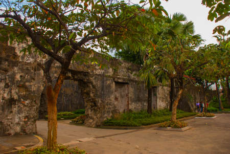 Old Fort Santiago in Intramuros, Manila city, Philippines