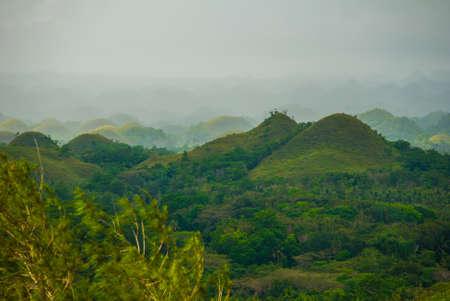 Chocolate Hills, Bohol Island, Philippines Southeast Asia
