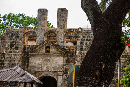 Old Fort San Pedro in Cebu, Philippines Stock Photo