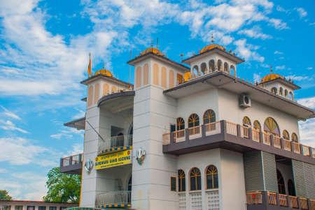 Gurdwara Sahib Kuching. Borneo. Malaysia.Sarawak sikh temple association