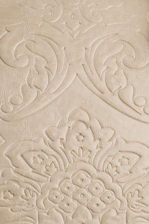 Texture beige. Flower pattern on the skin Stock Photo
