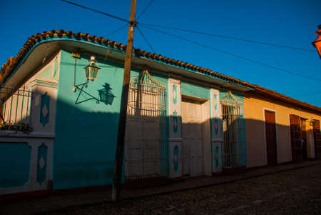 Santeria Israel, Trinidad, Cuba. The santeria is the religion of afro-Cuban people in Cuba.