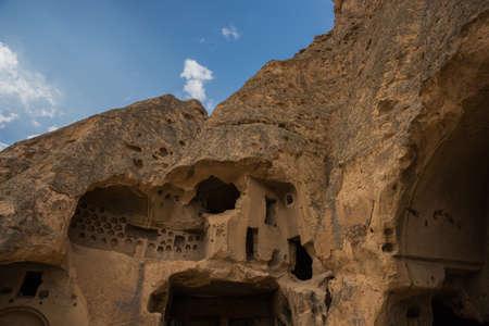 Selime Monastery in Cappadocia, Turkey. Selime Monastery is one of the largest religious buildings in Cappadocia.