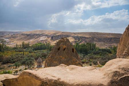 Selime Monastery in Cappadocia, Turkey.