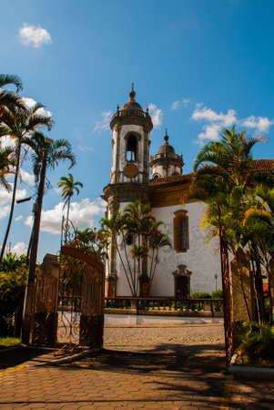 Sao Joao del Rei, Minas Gerais, Brazil: Sao Francisco de Assis church, one of the main church of rural colonial town of Sao Joao del Rei, the state of Minas Gerais Stockfoto