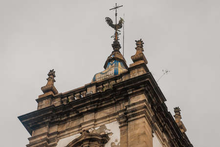 Beautiful Candelaria Church in downtown in Rio de Janeiro, Brazil.