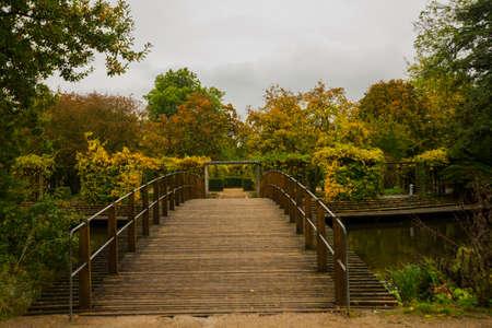Odense, Denmark: Hans Christian Andersen fairytale garden in Odense in Denmark, Europe Stock fotó