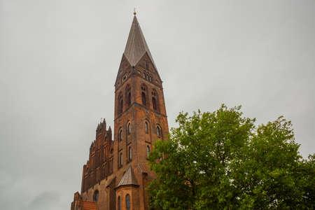 Odense, Denmark: St. Alban's Church, Sankt Albani Kirke, Odense Funen island Denmark Europe
