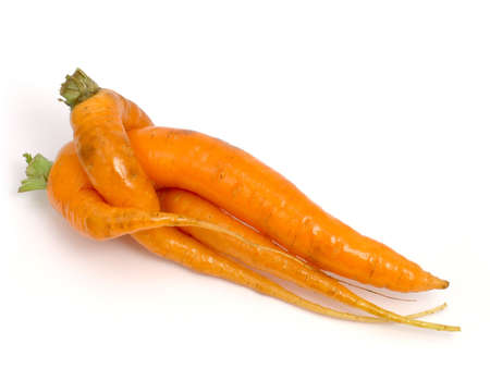 unusually: carrots which were unusually interlace
