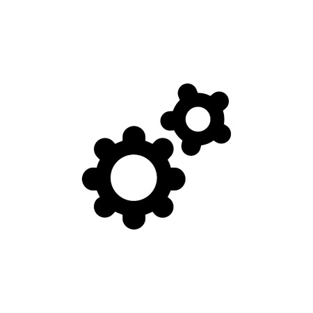 precise: Setting Icon. Flat illustration isolated vector sign symbol