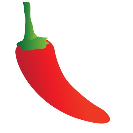indian spices: Chilli Pepper Illustration