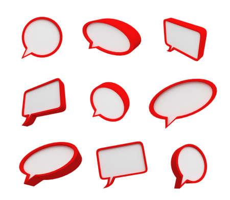 Speech bubble 写真素材