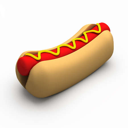 hot dog: hot dog Stock Photo