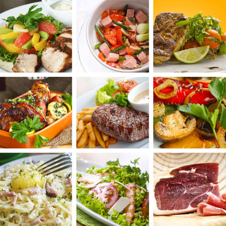 ensalada cesar: Alimentaci�n del collage