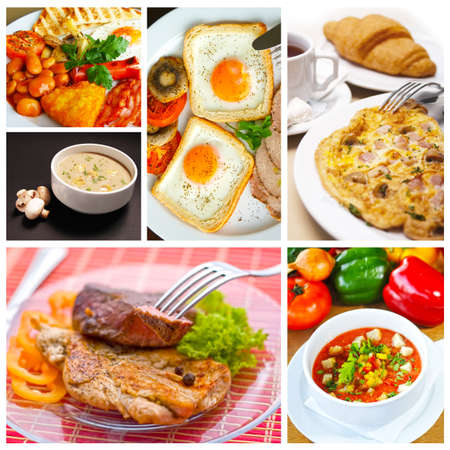 Food collage photo